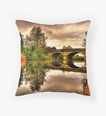 Blackwater Bridge Throw Pillow