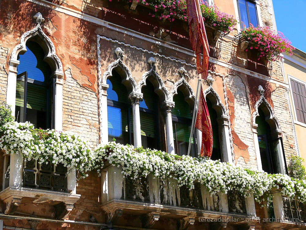 Venice window by terezadelpilar ~ art & architecture