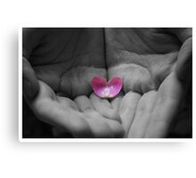 You Hold My Heart Canvas Print