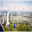 Dead Trees on the N.W.Spur by taariqhassan