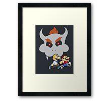 Super Runaway Bros! Framed Print