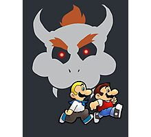 Super Runaway Bros! Photographic Print