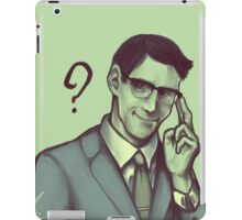 Edward Nygma iPad Case/Skin