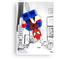 Lego Spiderman ! Canvas Print
