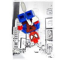 Lego Spiderman ! Photographic Print