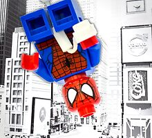 Lego Spiderman (without border) by steinbock