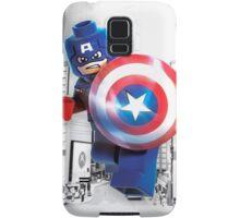 Lego Captain America Samsung Galaxy Case/Skin