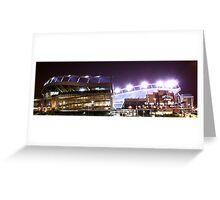 Denver Broncos Invesco Field Greeting Card