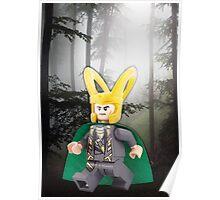 Lego Loki Poster