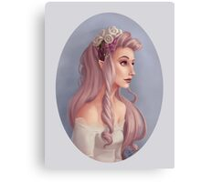 Elven queens Canvas Print