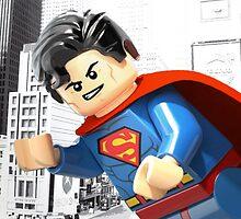Lego Superman by steinbock