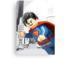 Lego Superman Canvas Print