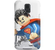 Lego Superman (with border) Samsung Galaxy Case/Skin