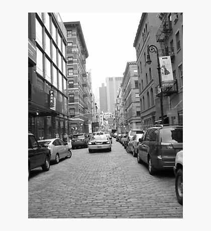 Greenwich Village Cobble Stone Streets Untouched. Photographic Print