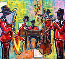 Jazz Band by Ken  Daley