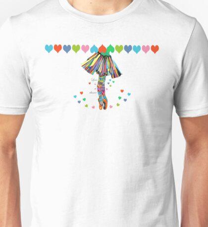 LOVE IS A DANCE Unisex T-Shirt
