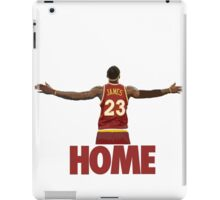 Lebron James - Return of the king iPad Case/Skin