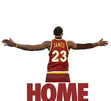 Lebron James - Return of the king by crossesdesign