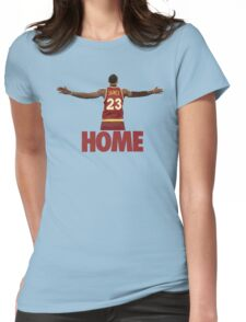 Lebron James - Return of the king Womens Fitted T-Shirt