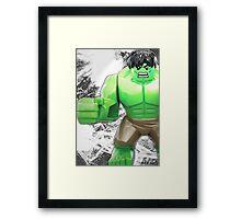 Lego Hulk Framed Print