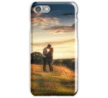 A Kiss At Sunset iPhone Case/Skin
