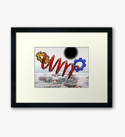 """""""God"""" Particle? Framed Print"""