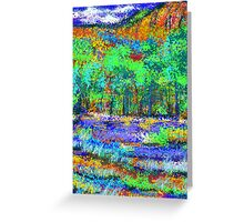 Wooded grove Greeting Card