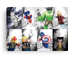 Lego Superheroes!! Canvas Print