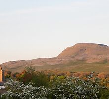 Ingleborough and Thornton-in-Lonsdale St Oswalds Church by Thornbrook
