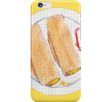 Cheesy Oatcakes iPhone Case/Skin
