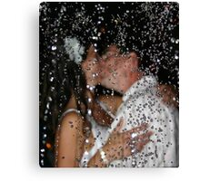 Wet Kiss Canvas Print