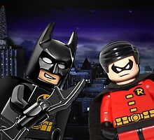 Lego Batman & Robin by steinbock