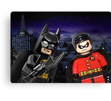 Lego Batman & Robin Canvas Print