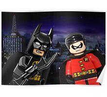 Lego Batman & Robin Poster