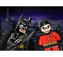 Lego Batman & Robin Photographic Print