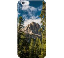 Between two trees iPhone Case/Skin