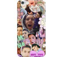 Lohanthony collage iPhone Case/Skin