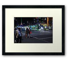 Night Stroll Framed Print