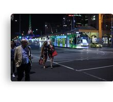 Night Stroll Canvas Print