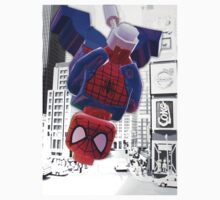 Lego spiderman hanging Kids Clothes