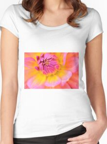 the pink embrace  Women's Fitted Scoop T-Shirt