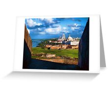 San Juan National Historic Site Greeting Card