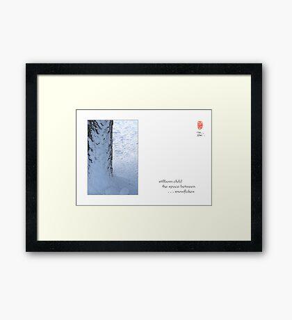 stillborn child Framed Print