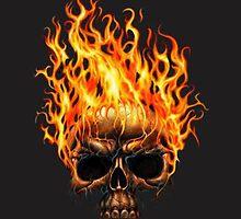 Burning Skull by borines