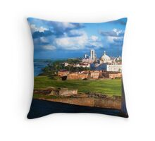 San Juan National Historic Site Throw Pillow