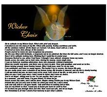 WICKER CHAIR by Madeline M  Allen