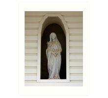 Madona at the Huntsville Monastery  Art Print