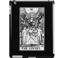 The Lovers Tarot Card - Major Arcana - fortune telling - occult iPad Case/Skin
