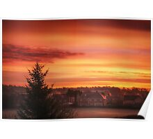 Magical Sunrise Poster