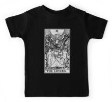 The Lovers Tarot Card - Major Arcana - fortune telling - occult Kids Tee